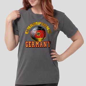 German Soccer Champions Womens Comfort Colors Shir