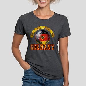 German Soccer Champions Womens Tri-blend T-Shirt