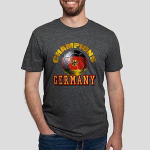 German Soccer Champions Mens Tri-blend T-Shirt