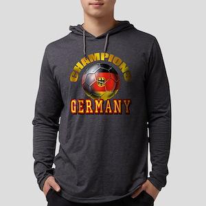 German Soccer Champions Mens Hooded Shirt
