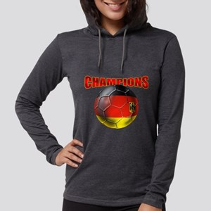 Germany Soccer Champions Womens Hooded Shirt