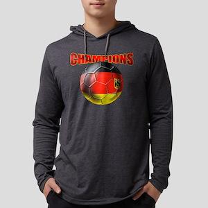 Germany Soccer Champions Mens Hooded Shirt