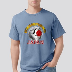 Japanese Soccer Mens Comfort Colors Shirt