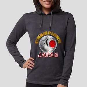 Japanese Soccer Womens Hooded Shirt