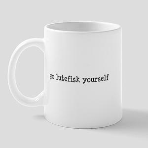 Go Lutefisk Yourself Mug