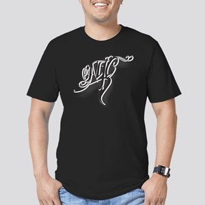 NYC ink Men's Fitted T-Shirt (dark)