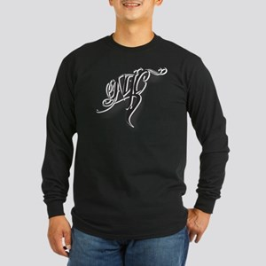 NYC ink Long Sleeve Dark T-Shirt