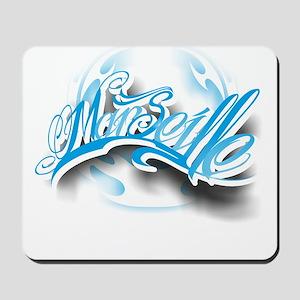 Marseille ink Mousepad