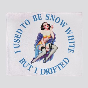I Used To Be Snow White Throw Blanket