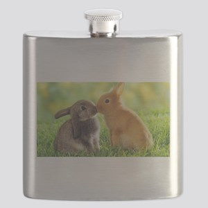 Love Bunnies Flask