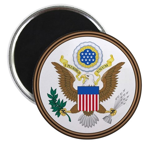 """USA Seal 2.25"""" Magnet (10 pack)"""