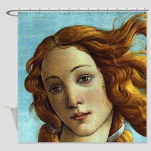 Sandro Botticelli Venus (Detail) Shower Curtain
