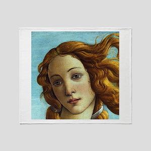 Sandro Botticelli Venus (Detail) Throw Blanket