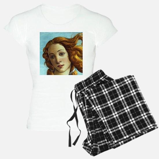 Sandro Botticelli Venus (Detail) Pajamas