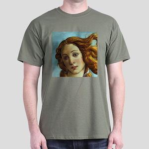 Sandro Botticelli Venus (Detail) Dark T-Shirt