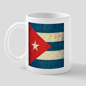 Grunge Cuba Flag Mug