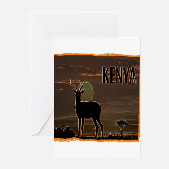 Kenya Greeting Card