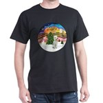 XMusic2-Bedlginton T Dark T-Shirt