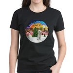 XMusic2-Bedlginton T Women's Dark T-Shirt