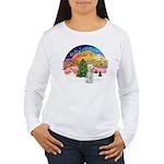 XMusic2-Bedlginton T Women's Long Sleeve T-Shirt