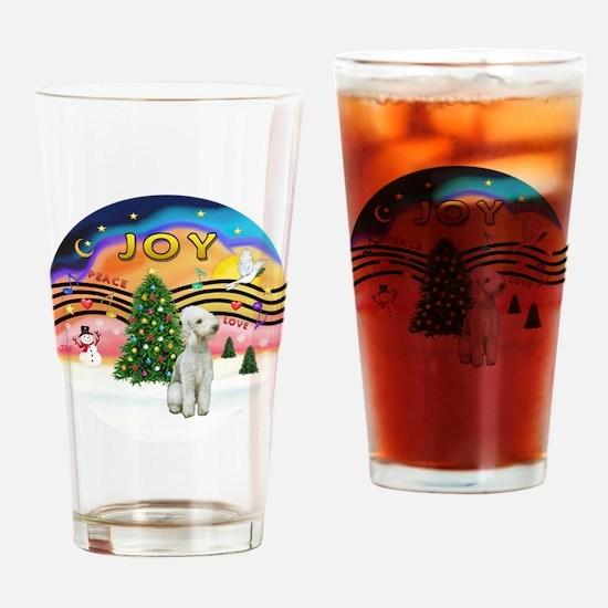 XMusic2-Bedlginton T Drinking Glass
