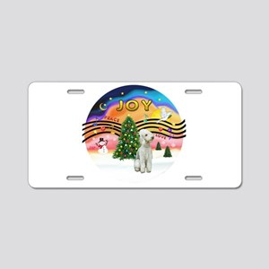 XMusic2-Bedlginton T Aluminum License Plate