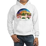 XMusic2-Great Dane (D) Hooded Sweatshirt