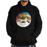 XMusic2-Great Dane (D) Hoodie (dark)