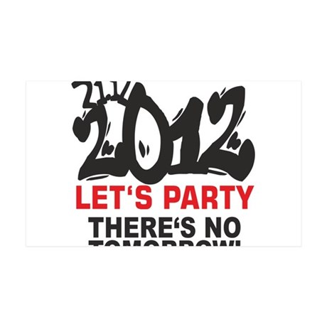last Party 35x21 Wall Decal