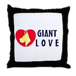 Dane Love Throw Pillow