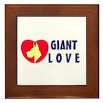 Dane Love Framed Tile