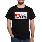 Dane Love Black T-Shirt