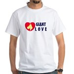 Dane Love White T-Shirt