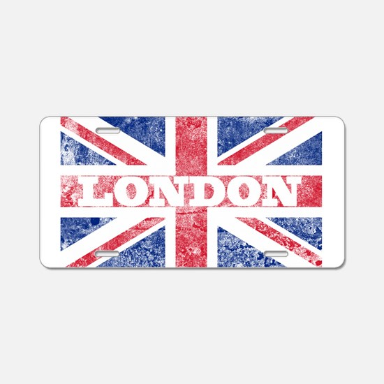 London2 Aluminum License Plate