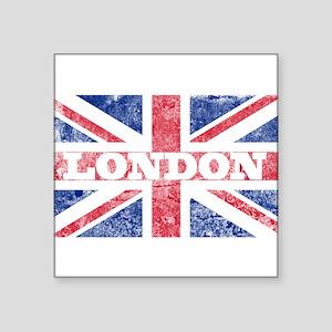 "London2 Square Sticker 3"" x 3"""