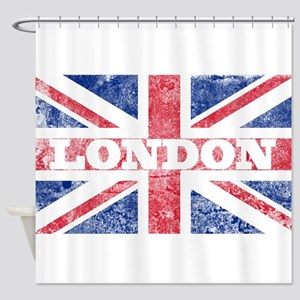 London2 Shower Curtain