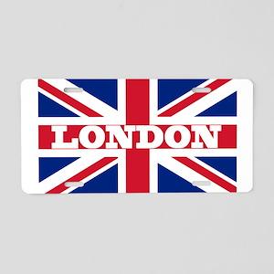 London1 Aluminum License Plate