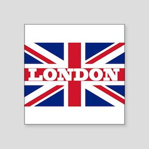"London1 Square Sticker 3"" x 3"""