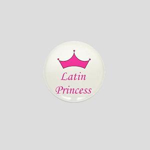 Latin Princess Mini Button