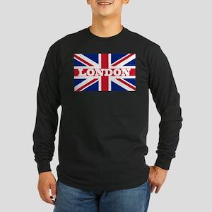 London1 Long Sleeve Dark T-Shirt