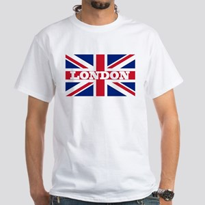 London1 White T-Shirt