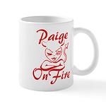 Paige On Fire Mug