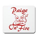 Paige On Fire Mousepad