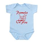 Pamela On Fire Infant Bodysuit