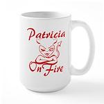 Patricia On Fire Large Mug