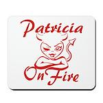 Patricia On Fire Mousepad
