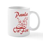 Paula On Fire Mug