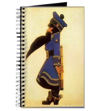 Vintage Chick Swiss Military Man Journal