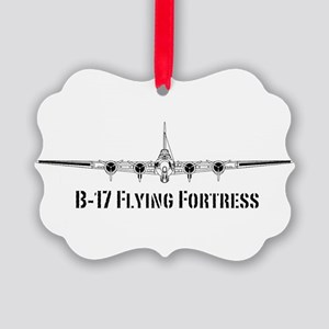 B-17 Flying Fortress Picture Ornament