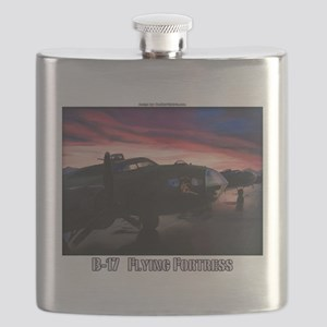 B-17 Flying Fortress Flask